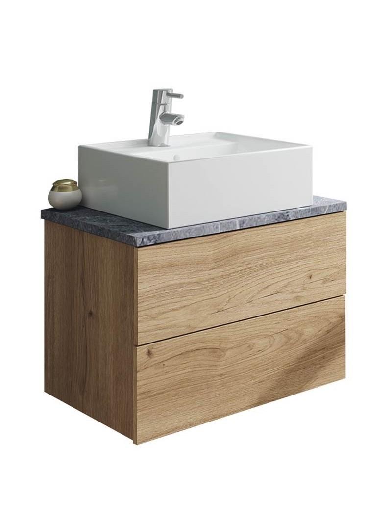 Mueble baño moderno Marble con lavabo cerámica