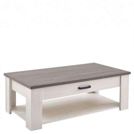 Mesa centro blanca