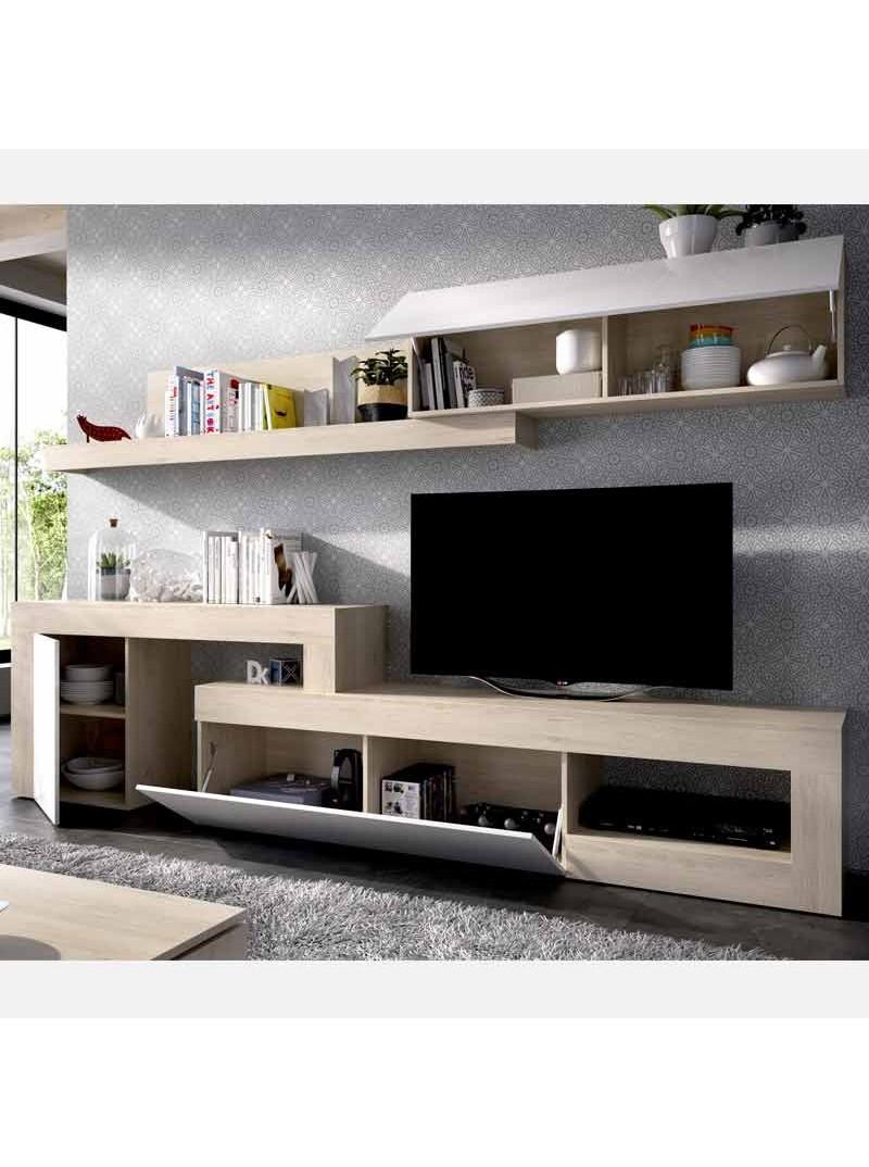 Mueble salón modular moderno Maila