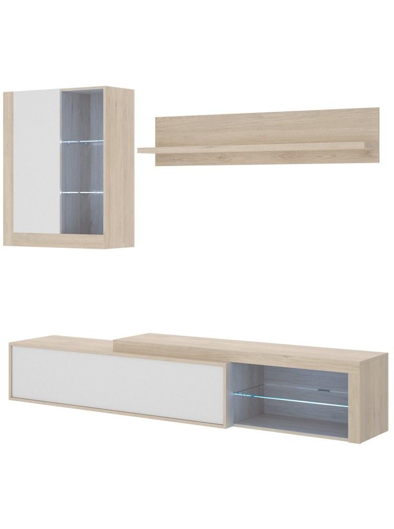 Mueble comedor luz LED Kolna