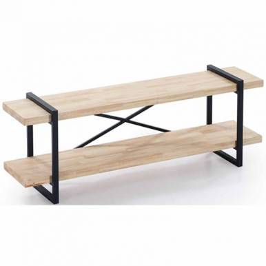 Mesa Tv Plank roble industrial