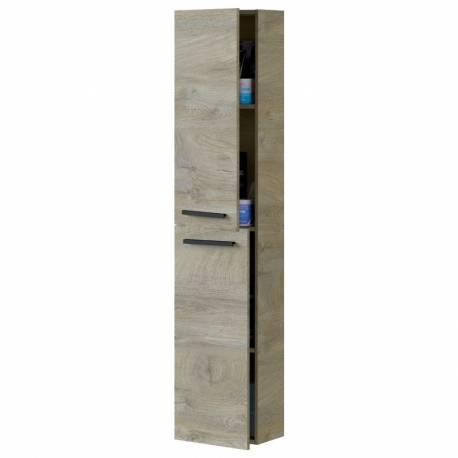 Columna de baño Athena 2 puertas Roble Alaska