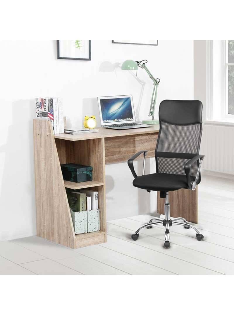 Silla de oficina Delta elevable color negro moderna