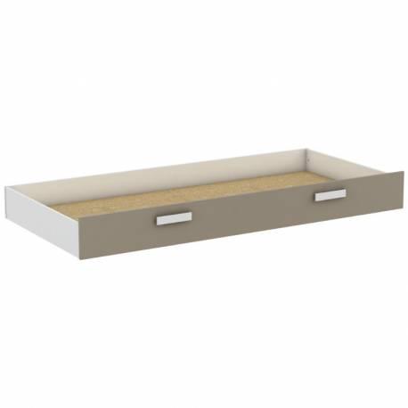 Cajón para cama Tidy blanco y arcilla