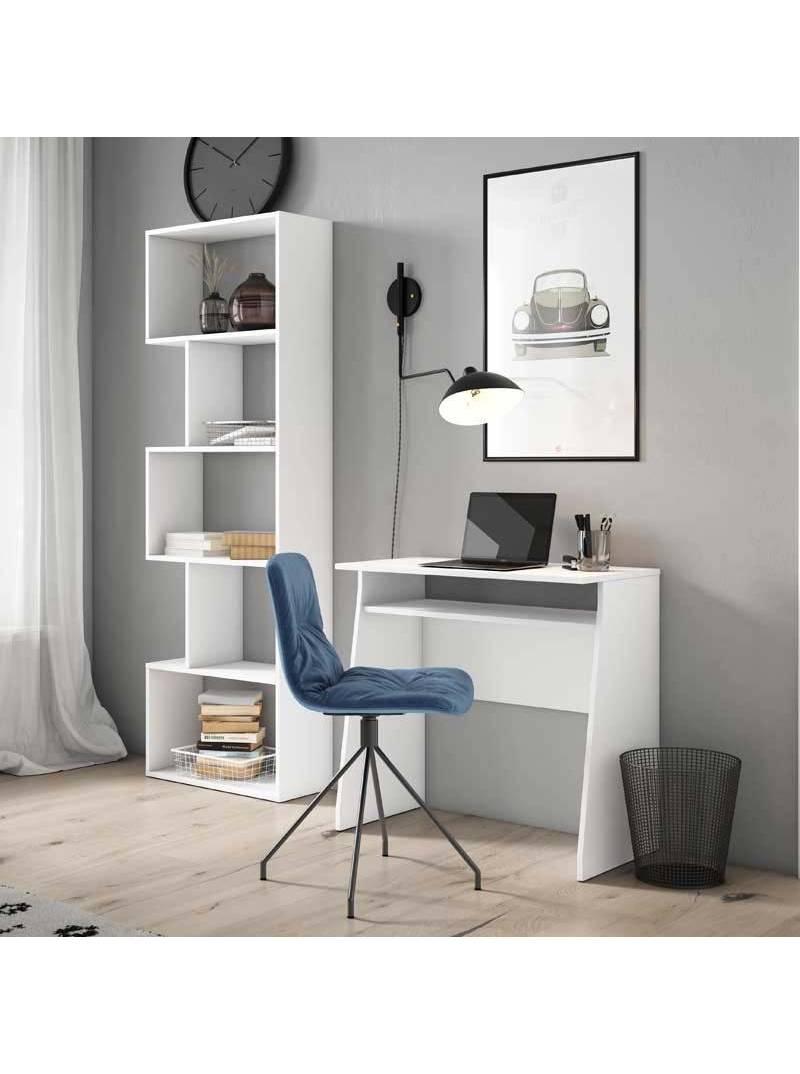 Mesa escritorio Kripton color blanco moderno