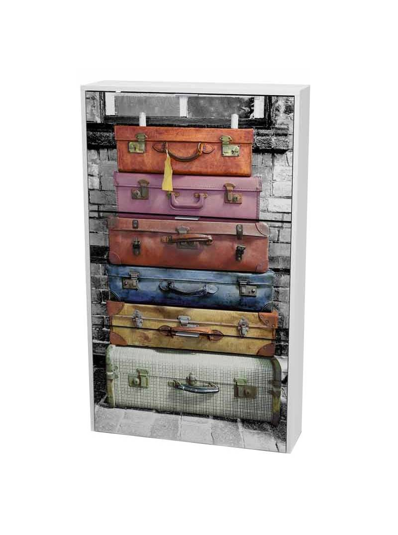 Zapatero 3 puertas Suitcase pasillo