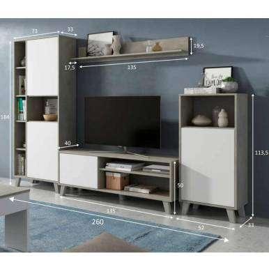 Mueble de salón modular Zoe...