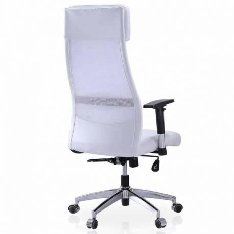 Sillón escritorio blanco Airflow Cojín Lumbar