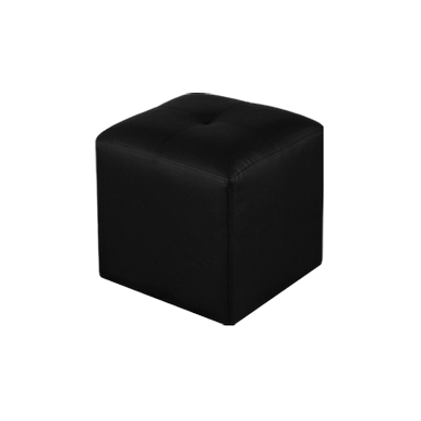 Pouf multiuso negro
