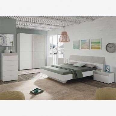 Pack dormitorio Cemento