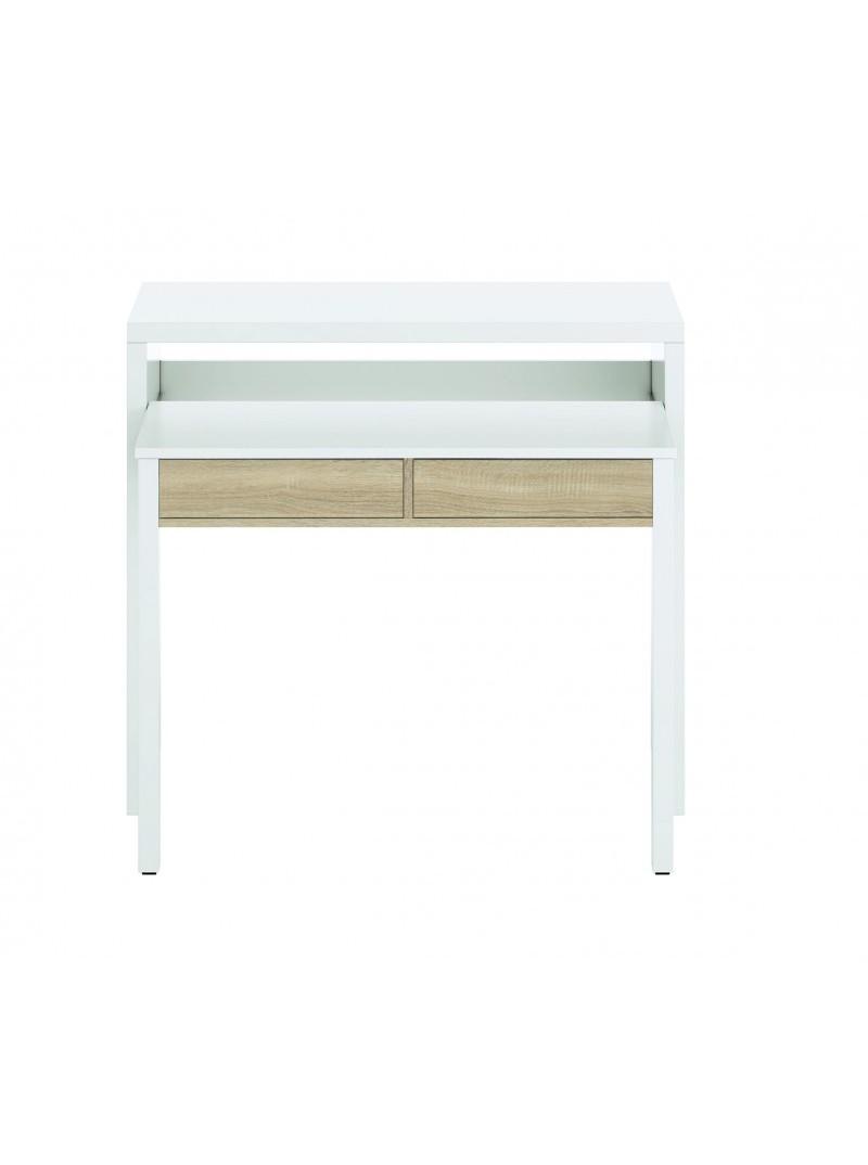 Consola escritorio extensible 98 x 87 cm