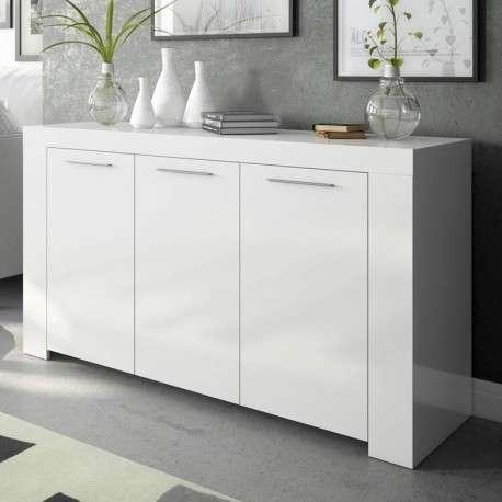 Aparador 144 cm en color blanco artik