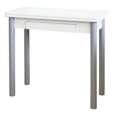 Mesa cocina plegable Mijas blanca 842141