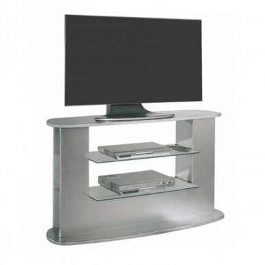 Mesa televisión color plata...