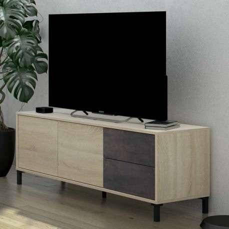 Mueble TV Andy óxido industrial