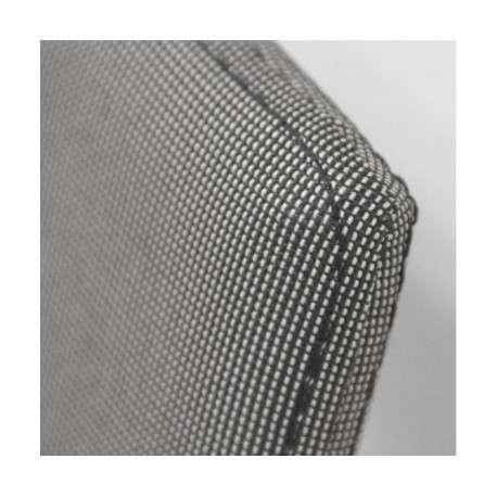 Silla de tela gris